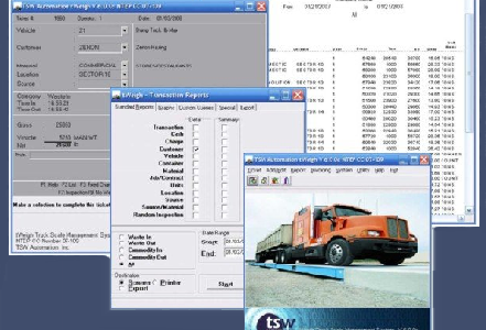 tWeigh-Truck Scale Data Management System